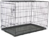 Brand New Folding Dog Cat Kennel Crate Cage 48