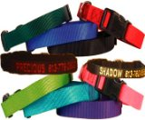Custom Personalized Embroidered Dog Collars