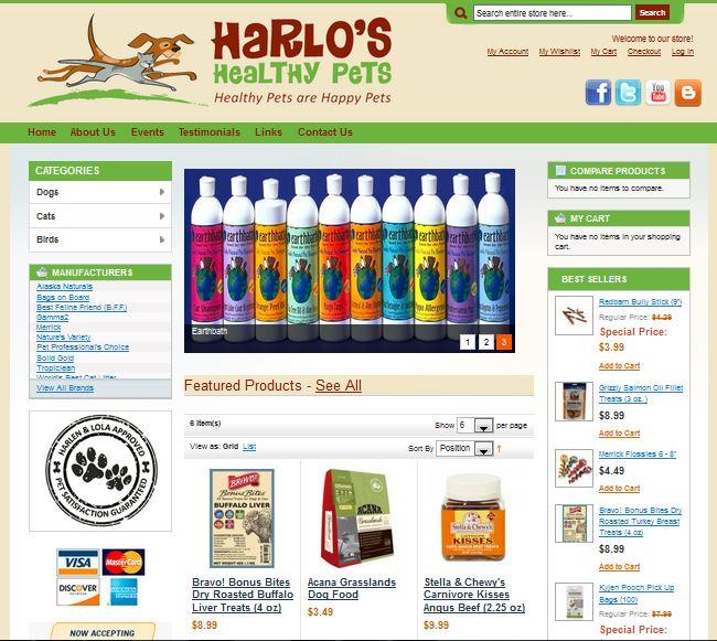 Harlo's Healthy Pets