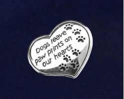 Paw Prints on Heart