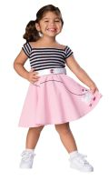 50's Girl Costume Toddler Costume
